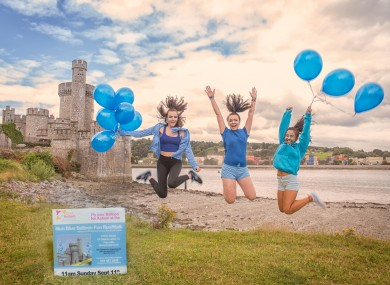 Participants getting ready for this Sunday's fun run and walk in the shadow of Blackrock Castle in Cork Harbour.