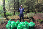 Jack Reynor lost the head and cleaned up after finding loads of litter in a Wicklow forest ... It's The Dredge