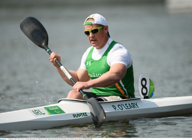 O'Leary in action in Rio earlier.