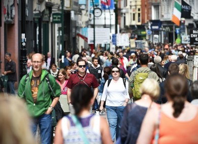 There was a 13% increase in overseas tourists holidaying in Ireland in the first six months of 2016.