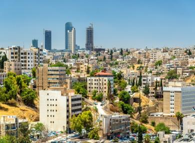 Amman in Jordan.