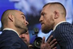 McGregor predicts first-round KO of 'broke bum' Alvarez at Madison Square Garden