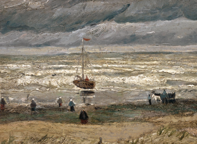 View of the Sea at Scheveningen, described by experts as priceless.