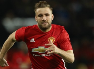 Luke Shaw and United welcome Burnley to Old Trafford on Saturday