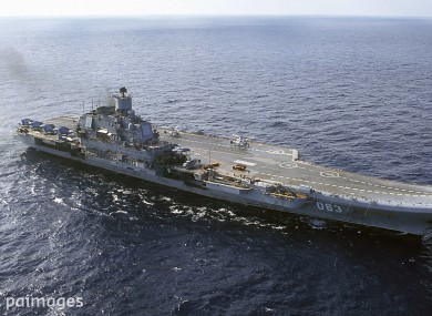 Russia To Modernize The Admiral Kuzsov Forego Building New Aircraft Carrier