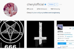 Cheryl's Instagram was hacked by trolls proclaiming 'HAIL SATAN'... It's the Dredge