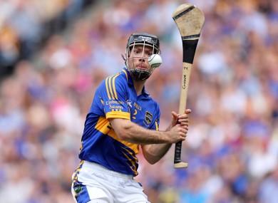Tipperary hurler Conor O'Brien is from the Éire Óg-Annacarty club man