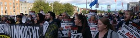 Hundreds gather in Dublin to protest Jobstown teen's guilty verdict
