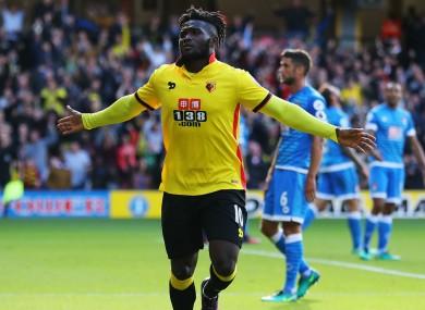 Watford striker Isaac Success.