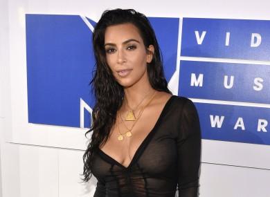 Kim Kardashian in August.