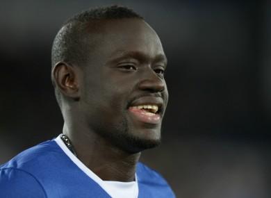 Everton striker Oumar Niasse.
