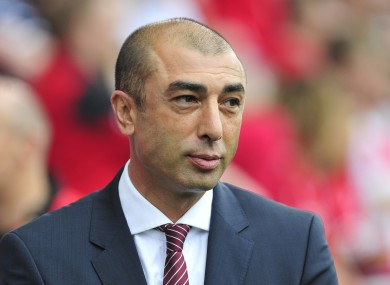 Roberto Di Matteo is no longer Aston Villa manager.