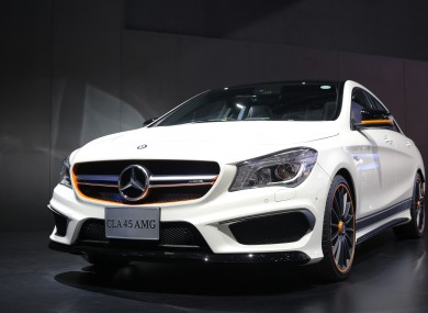 File photo of a Mercedes CLA 45