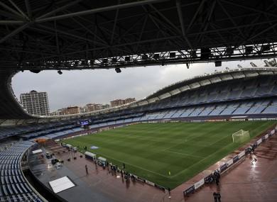 Real Sociedad's Anoeta Stadium.