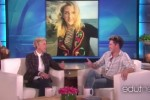 Niall Horan appeared on The Ellen Show and he definitely fancies Ellie Goulding... It's the Dredge