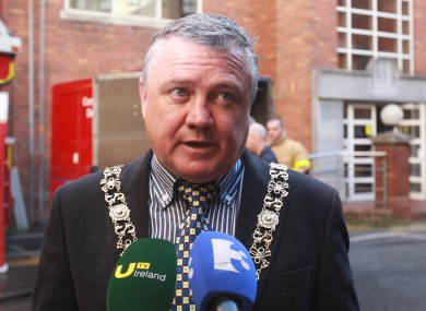 Current Lord Mayor of Dublin, Brendan Carr