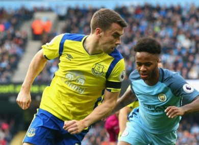 Seamus Coleman has impressed for Everton and Ireland recently.