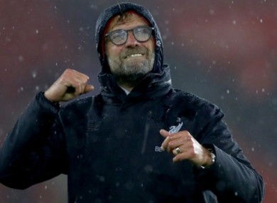 Klopp has issued a warning to his players ahead of the festive period.