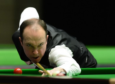 O'Brien will now face Stephen Maguire in the next round.