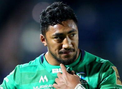 Aki disappointed after Saturday's loss to Leinster.
