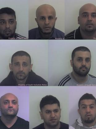 Top L-R: Mohammed Whied,Waleed Ali, Asif Ali / Middle L-R: Sageer Hussain and Ishtiaq Khaliq / Bottom L-R: Basharat Hussain, Masoued Malik, Naeem Rafiq