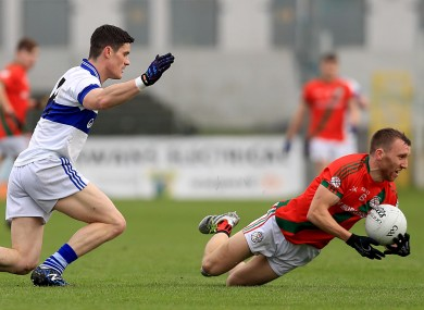 St Vincent's Diarmuid Connolly with Palatine's Christopher Crowley