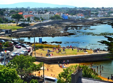File picture of Seapoint and Sandycove in Dublin.