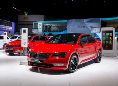 Skoda Has Given Its Superb A New Sportier Twist Thejournal Ie