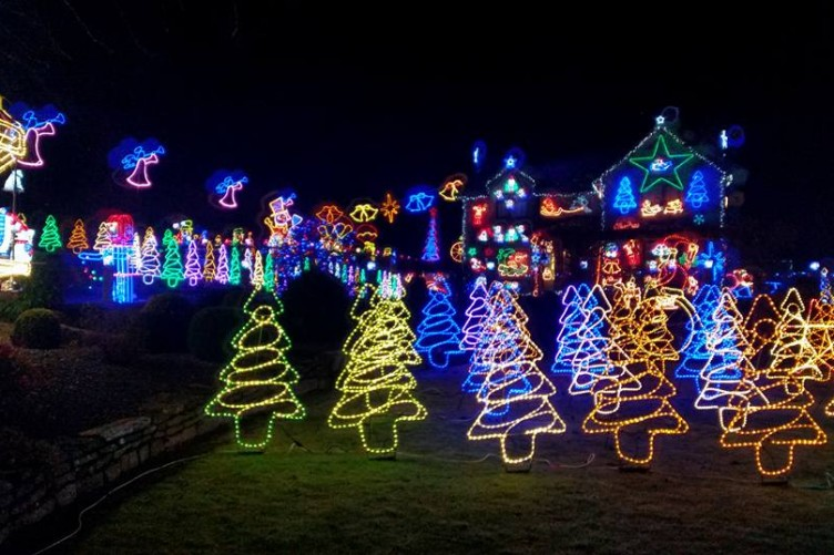 this carlow family has gone all out with their christmas lights for a good cause - How To Tell Which Christmas Light Is Out