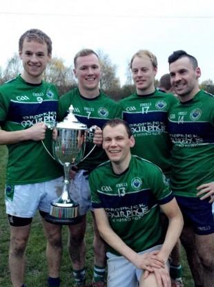 Brendan Parsons, Conor Horan, Damien Keane, Frank Molloy and Sean Malee.
