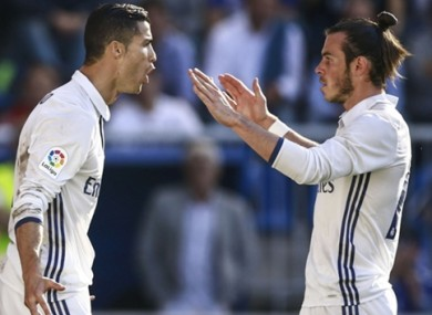 Ronaldo and Bale were both linked with Man United during Moyes' tenure.