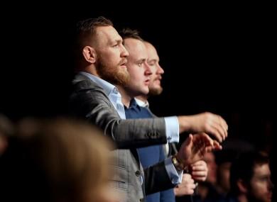 McGregor: hiatus until late 2017.