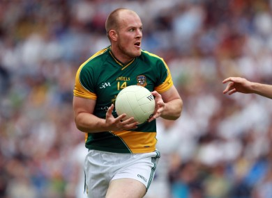 Joe Sheridan shattered Louth hearts with a controversial goal in the 2010 Leinster final.