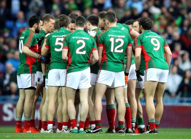 Mayo reached this year's All-Ireland final replay against Dublin.