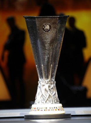 Europa League trophy (file pic).