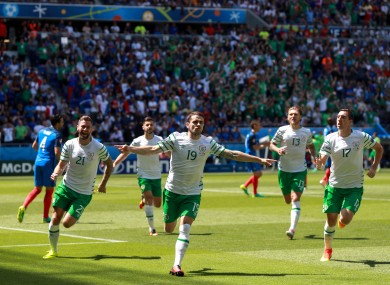 Euro 2016 was the most popular search in Ireland.