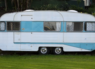 File photo of a caravan