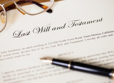 New laws could curb disputes over wills in ireland thejournal file photo solutioingenieria Image collections