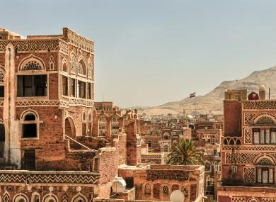 File photo of a city in Yemen.
