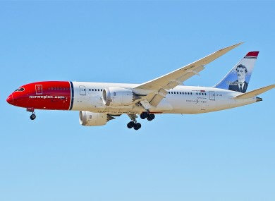 Norwegian Air file photo.
