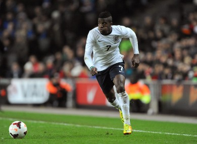 Zaha played twice for England under Roy Hodgson.