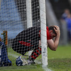 A narrow defeat is tough to take for Ballygunner and their goalkeeper Stephen O'Keeffe.<span class=