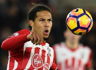 Virgil van Dijk has been linked with a move to Liverpool of late.