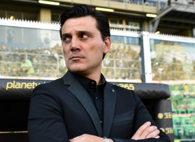 Vincenzo Montella has impressed since taking over as Milan manager.