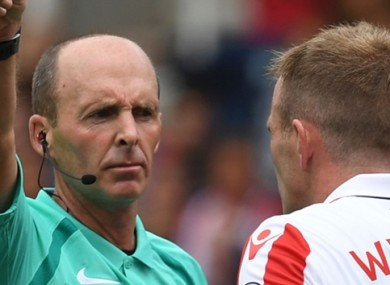 Mike Dean has received criticism for a number of recent controversial decisions.