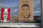 A memorial for Dale Creighton at the pedestrian footbridge across the Tallaght Dual Carriage where he was seriously assaulted on New Year's Day