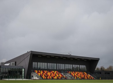 The GAA's National Games Development Centre was opened last April.