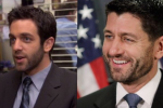 People are spotting uncanny comparisons between the Oval Office and 'The Office'