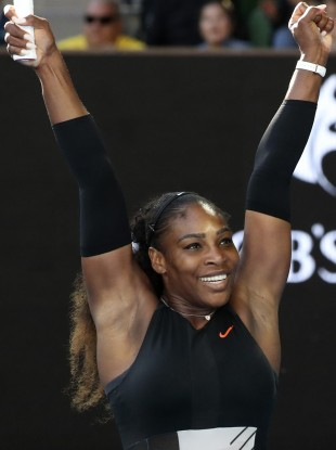 Serena: needed just 50 minutes to beat Mirjana Lucic-Baroni.