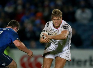 The flanker missed the start of the season after shoulder surgery.